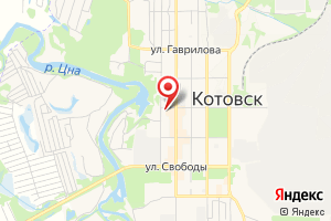 Адрес Тамбовская областная сбытовая компания на карте