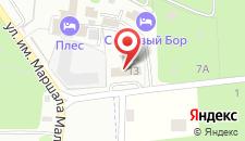 Гостиница Спартак на карте