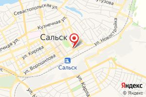Адрес Производственное отделение РЭС, Ростовэнерго, филиал, Ювэс на карте