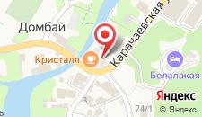 Гостиница Кристалл на карте