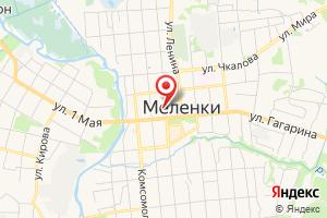 Адрес Газпром межрегионгаз Владимир, абонентский пункт г. Меленки на карте