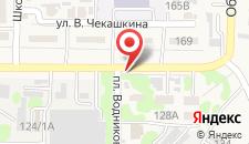 Гостиница Изобильный на карте