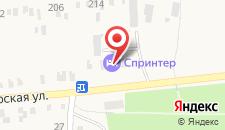 Отель Спринтер на карте