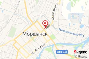 Адрес Газпром межрегионгаз Тамбов, Моршанский участок на карте