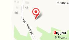 Загородный отель Надеждино на карте