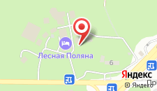 Мини-гостиница Лесная Дача на карте