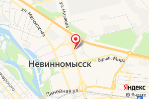 Адрес Центр отопления и водоснабжения на карте
