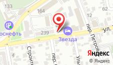 Гостиница Звезда на карте