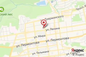 Адрес ГУП СК Ставрополькрайводоканал на карте