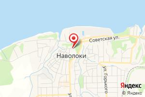 Адрес Агентский участок в г. Наволоки на карте