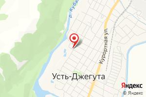 Адрес МРСК на карте