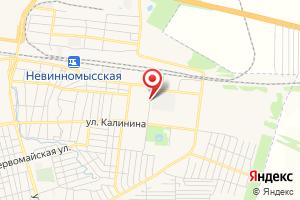 Адрес Насосная станция КНС-100 на карте