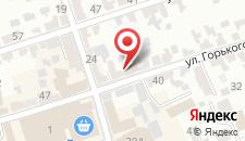 Отель Эльбрус на карте