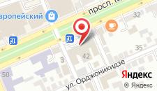 Гостиница Интурист на карте