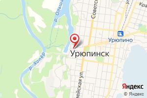 Адрес Производственное отделение Урюпинские электрические сети филиала ПАО МРСК Юга Волгоградэнерго на карте