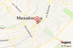 Адрес Ставрополькрайводоканал на карте