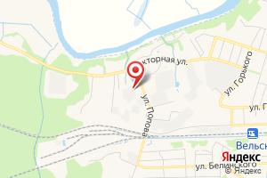 Адрес ВельскГазСервис на карте