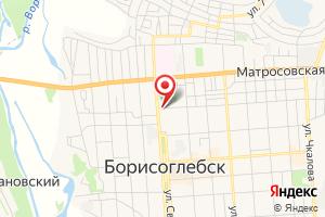 Адрес Газпром межрегионгаз Воронеж, Борисоглебское обособленное структурное подразделение на карте