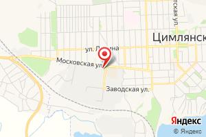 Адрес Водоканал Цимлянского района на карте