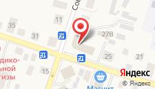 Гостиница Сияние Севера на карте