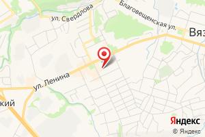 Адрес Газпром межрегионгаз Владимир, территориальный участок г. Вязники на карте