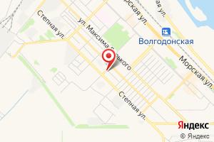 Адрес Газпром межрегионгаз Ростов-на-Дону, абонентский участок в г. Волгодонск на карте