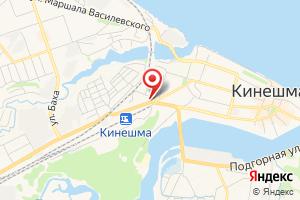 Адрес Газпром межрегионгаз Иваново, абонентский участок в г. Кинешма на карте
