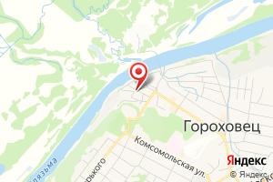Адрес Газпром межрегионгаз Владимир, абонентский пункт г. Гороховец на карте