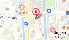 Гостиница Кавказская Пленница на карте