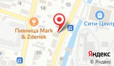 Гостиница Le Bristol на карте