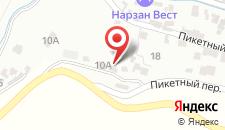 Гостевой дом Золотой Гусь на карте
