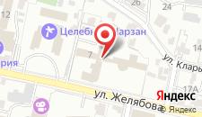 Санаторий Радуга на карте