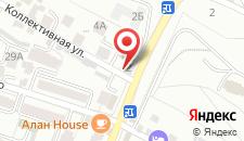 Отель А3 на карте