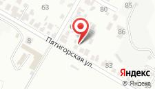 Гостевой дом На Пятигорской на карте