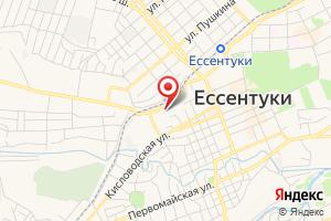 Адрес ГРО Ставропольского края, АО Ессентукигоргаз на карте