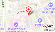 Апарт-отель Крокус SPA на карте