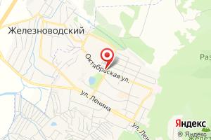 Адрес Газпром межрегионгаз Ставрополь, филиал в г. Железноводске на карте