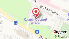 Апарт-отель Славяновский исток на карте