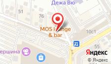 Отель Альтаир на карте