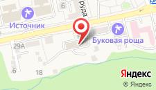 Гостиница Жемчужина Кавказа на карте