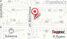 Гостевой дом На Восстания, 42 на карте