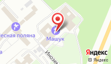 Санаторий Машук ВОС на карте