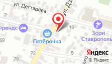 Гостевой дом Уют на Дзержинского на карте