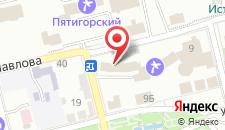 Гостиница Машук на карте