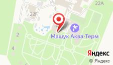 Санаторий Машук Аква-Терм на карте