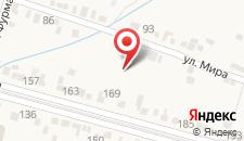 Гостиница Гермес на карте