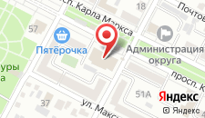 Отель Кавказ на карте