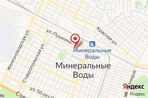 Адрес Газпром Межрегионгаз Ставрополь, филиал на карте