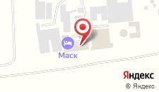 Гостиница Маск Пятигорск на карте