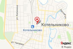 Адрес Газпром межрегионгаз Волгоград, абонентский участок Котельниковского р-на на карте